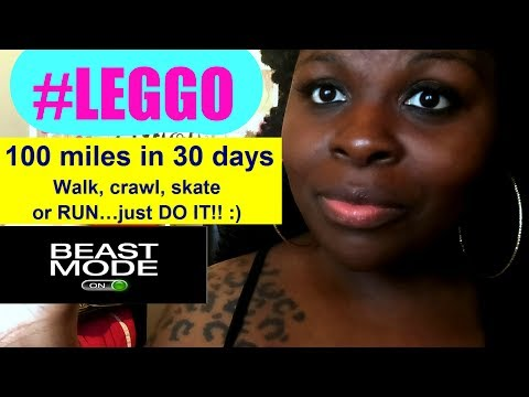 WEIGHT LOSS CHALLENGE | 100 MILES IN 30 DAYS!