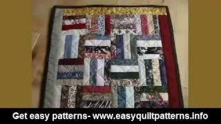 simple quilting patterns for beginners rail fence quilt photo gallery