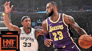 Los Angeles Lakers vs San Antonio Spurs Full Game Highlights | 12.05.2018, NBA Season  from MLG Highlights
