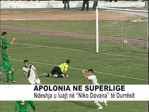 APOLONIA NE SUPERLIGE: 3-0 NDAJ LUSHNJES NE PLEJ OF
