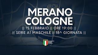 Serie A1M [18^]: Merano - Cologne 26-23