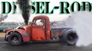 """The """"Diesel-Rod"""" - Turbo Diesel Rat Rod!"""