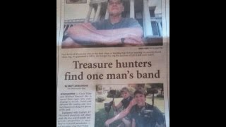 Treasure Hunters find and return class ring after being lost 38 years !