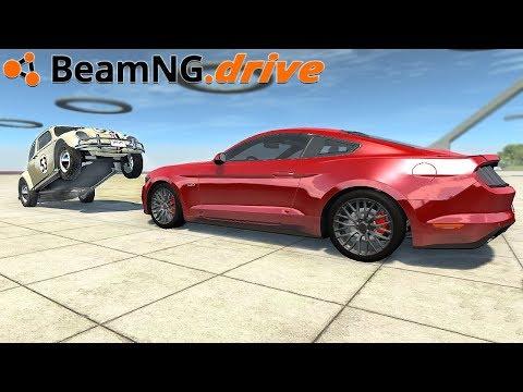 BeamNG.drive - MUSTANG FAILS