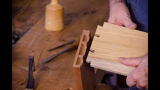 Half-blind Dovetails for Drawers with James Huggett