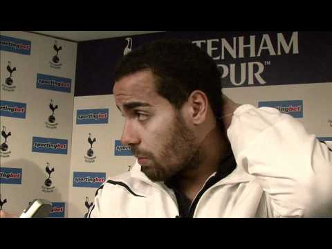 Interview: Tottenham's Tom Huddlestone!