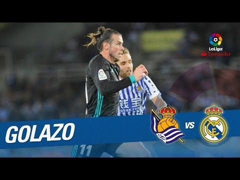 Golazo de Bale (1-3) Real Sociedad vs Real Madrid
