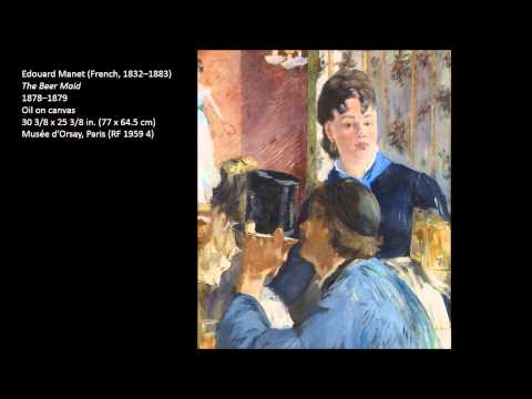 Manet, Edouard Part Two 2/4 Art Lecture by dr. christian conrad