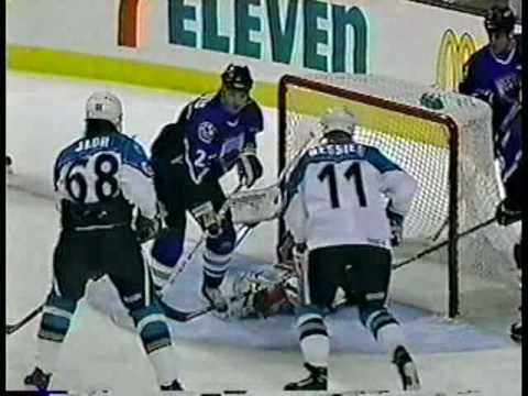 FoxTrax: 1996 NHL All-Star Game First Period Highlights Video