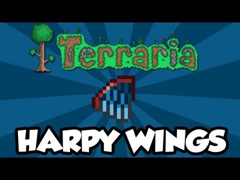Как в террарии сделать крылья гарпии в террарии 28