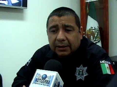 Mazatlan,jefe policia mpal.Murillo Rojo informa