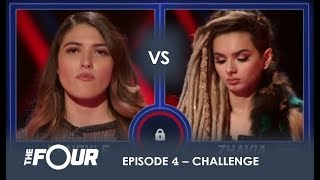Kendyle vs Zhavia: The BOMBSHELL Result That Has Meghan Trainor Sobbing on LIVE TV   S1E4   The Four