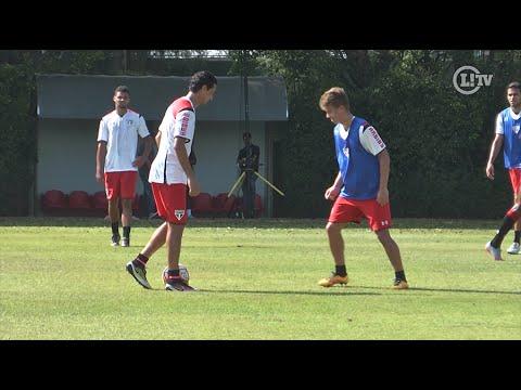 Ganso e Lucas Fernandes travam 'duelo técnico' em treino do São Paulo