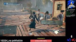 LIVE - Q&A #25, Gramy w Assassin's Creed Unity (PS4)