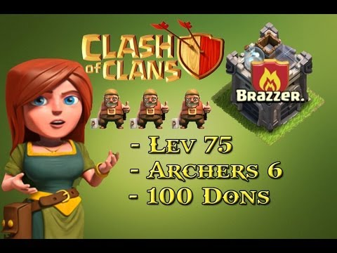 Clash Of Clans - Présenation Du Clan Brazzer video