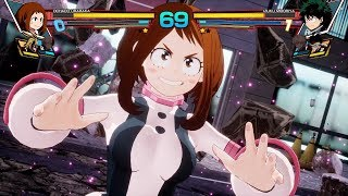 My Hero Academia: One's Justice - Uraraka vs Deku Full Match Gameplay EXCLUSIVE!