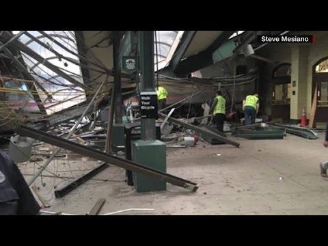 NJ train passenger: The crash was 'pretty gruesome...