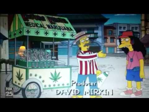 Simpsons weed