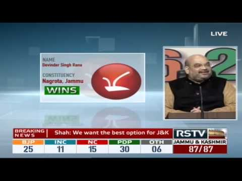 Jharkhand and Jammu & Kashmir Assembly Election Results 2014 - Loktantra | Verdict (15:00 - 16:00)