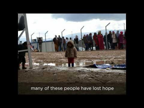 Refugees: latest Iraq: Iraq war & Syria war refugee camp IDP humanitarian aid appeal