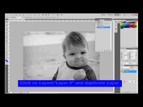 Easy image convert to contour line step by step