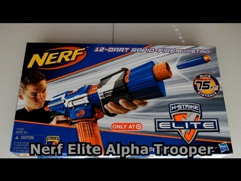 ~Unboxing~ Nerf N-Strike Elite Alpha Trooper CS-12 Unboxing Video ~Unboxing~