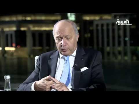 L'entretien de Laurent Fabius avec la chaîne al-Arabiya