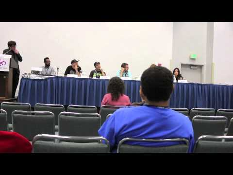 Hip hop and comics at Wondercon 2014