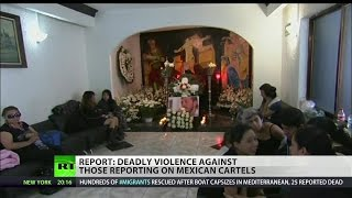 Surge of Journalist killings in Mexico raising alarms for the press