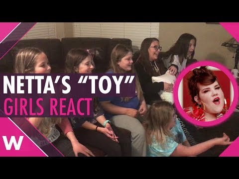 "Preteens girls react to ""Toy"" by Netta (Israel Eurovision 2018)"