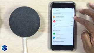 Setup Your Music Services To Google Home Devices