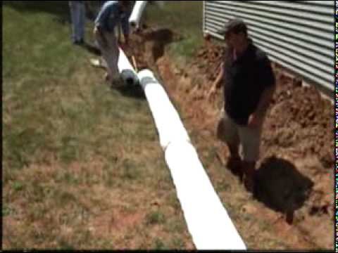 Nds Ezflow French Drain Alternative Youtube