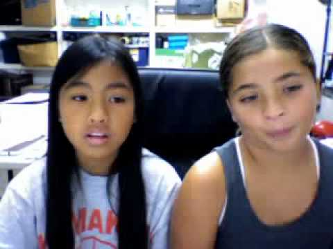 us singing never say never by justin bieber ft. J. smith