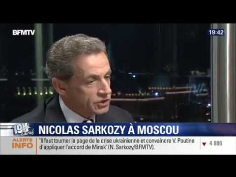 Interview de Nicolas Sarkozy sur BFM TV à Moscou