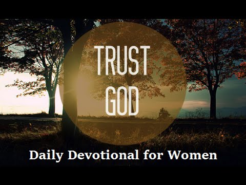Trusting for the Promise.  Daily Devotional For Women