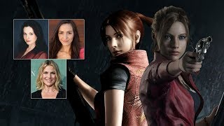 Comparing The Voices - Claire Redfield