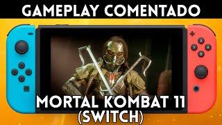 GAMEPLAY español MORTAL KOMBAT 11 en NINTENDO SWITCH. 1 HORA de juego en la consola de Nintendo