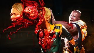 Mortal Kombat 11 - All Fatalities On Ronda Rousey