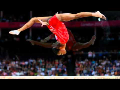 Gabrielle Douglas of the US wins the gold In Womens Individual Gymnastics