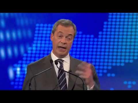 UKIP Nigel Farage vs Nick Clegg, BBC Europe debate 2 02Apr14