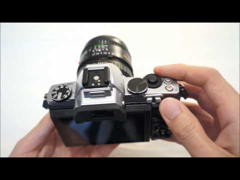 Olympus OM-D EM-5 Camera Review: Body Tour (Silver)