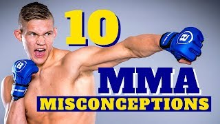 10 MMA Misconceptions With Pro Fighter Oliver Enkamp