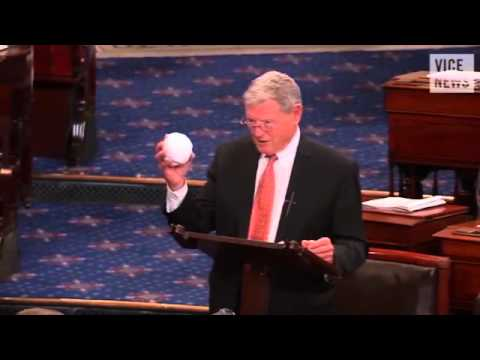 Obama to VICE: 'Disturbing' That James Inhofe Threw a Snowball on the Senate Floor