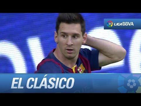 Seguimiento a Messi en El Clásico