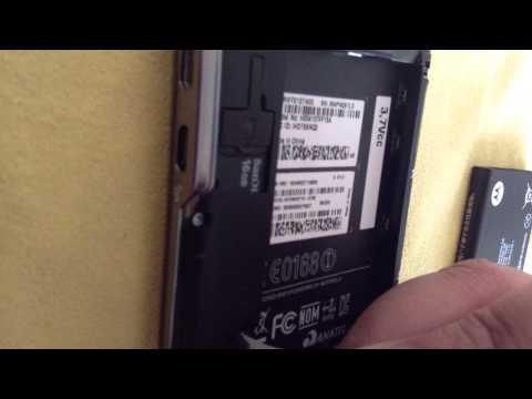Nextel Motorola Iron Rock Desbloqueado para 3G Iusacell. Telcel Movistar Unefon Parte 1