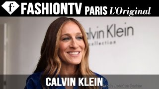 Calvin Klein Collection ft Sarah Jessica Parker & Anna Wintour | NYFW Spring/Summer 2015 | FashionTV