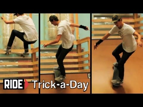 How-To Frontside Disaster With David Loy – Trick-a-Day