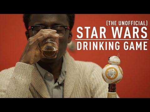 The (Unofficial) Star Wars Drinking Game