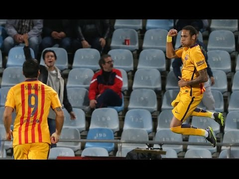 Getafe VS FC Barcelona 0 - 2  All Goals Highlights 31-10-2015