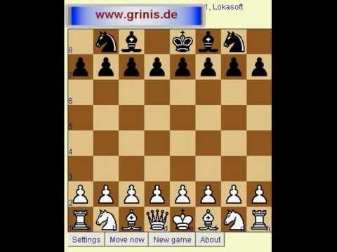 Шахматы для начинающих. Компьютер играет без ферзя и двух ладей (en, de, rus, bras subtitle). CC